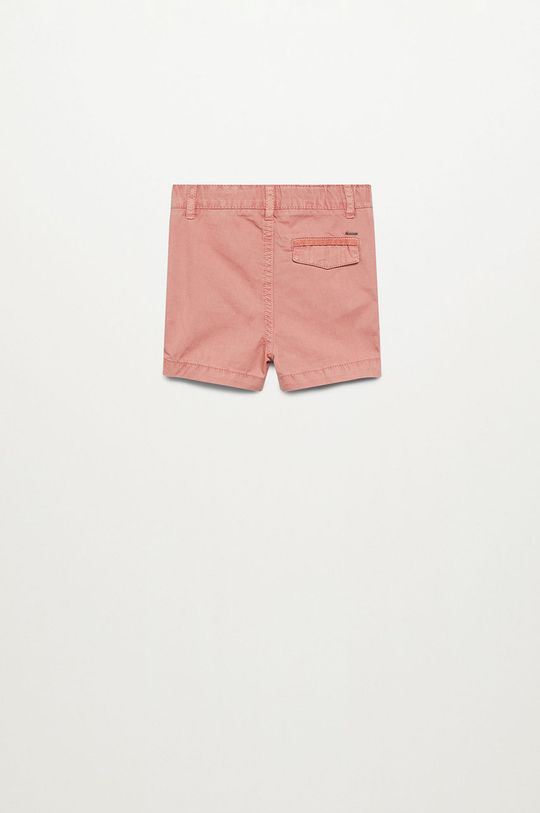 Mango Kids - Szorty dziecięce Berachi-I 80-104 cm różowy