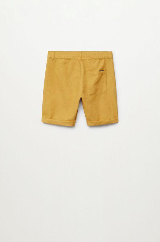 Mango Kids - Szorty dziecięce Calatea 110-164 cm
