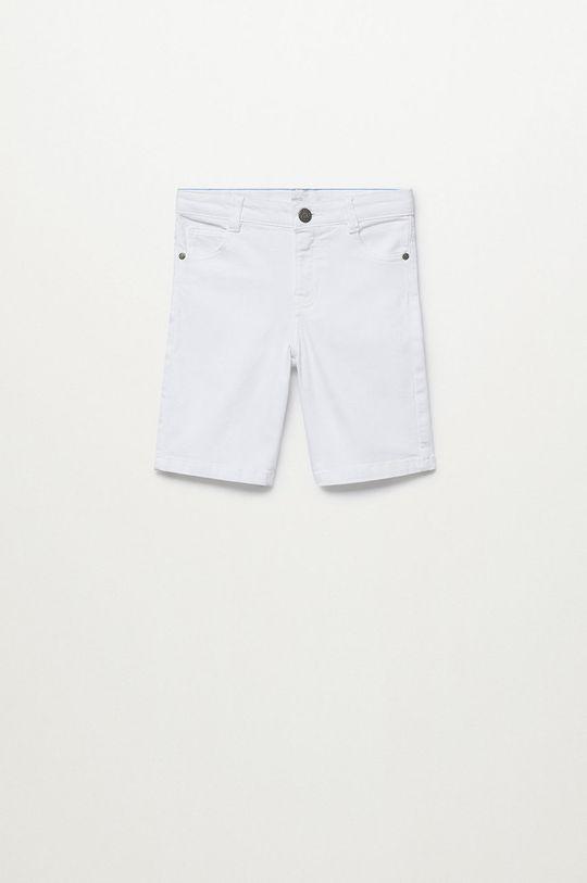 biały Mango Kids - Szorty dziecięce Perub 110-164 cm Chłopięcy
