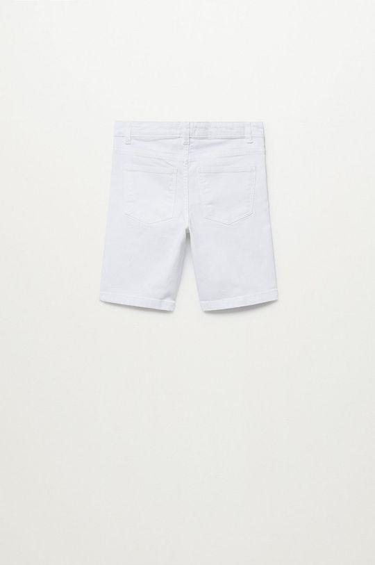 Mango Kids - Szorty dziecięce Perub 110-164 cm biały