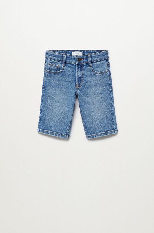 Mango Kids - Szorty jeansowe dziecięce John 110-164 cm Chłopięcy