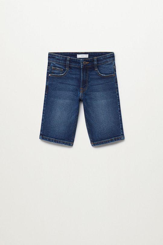 Mango Kids - Pantaloni scurti din denim pentru copii John 110-164 cm De băieți