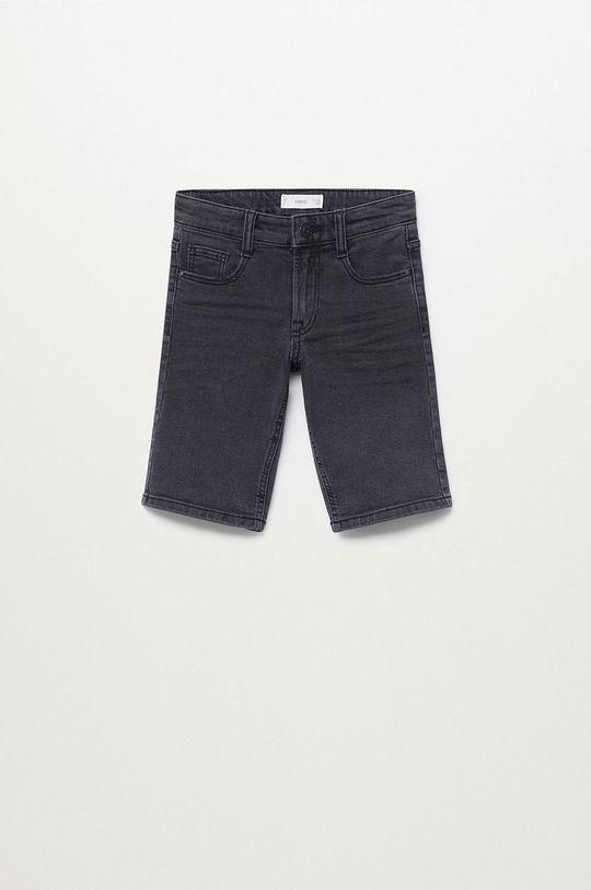 szary Mango Kids - Szorty jeansowe dziecięce John 110-164 cm Chłopięcy