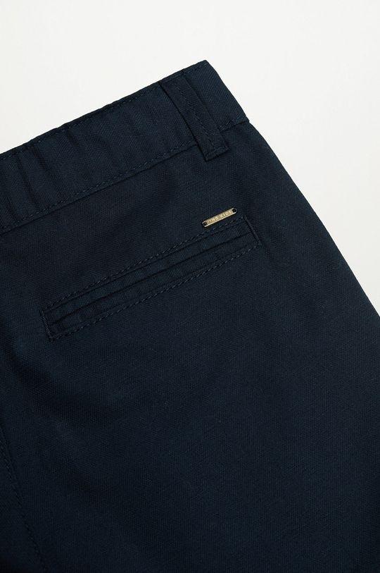 tmavomodrá Mango Kids - Detské krátke nohavice Calatea 110-164 cm