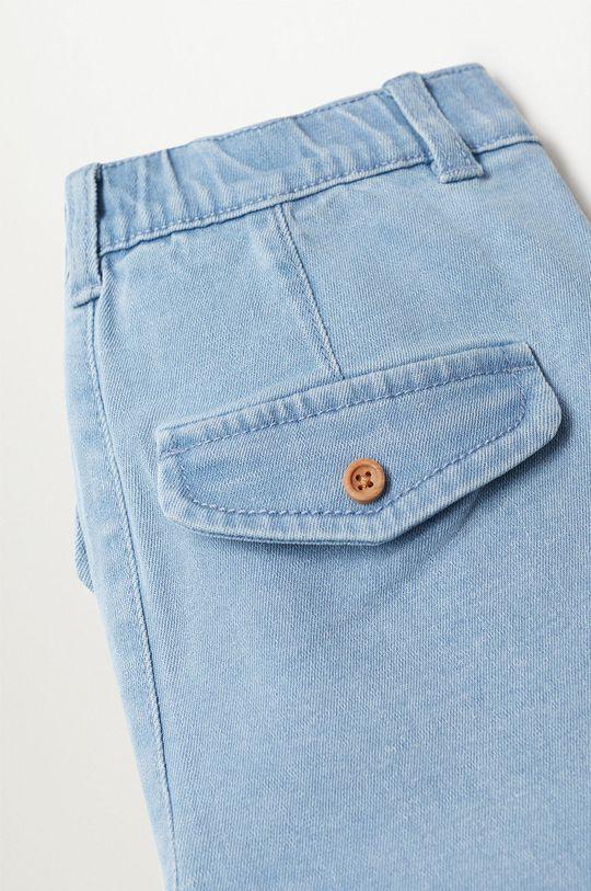 niebieski Mango Kids - Szorty jeansowe dziecięce Joku8 80-104 cm