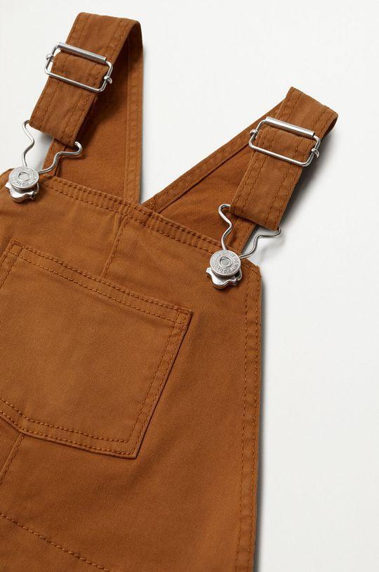 Mango Kids - Detské nohavice na traky Seth 80-104 cm  97% Bavlna, 3% Elastan