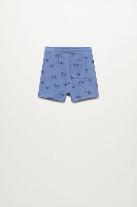 Mango Kids - Szorty dziecięce Mario 80-104 cm niebieski