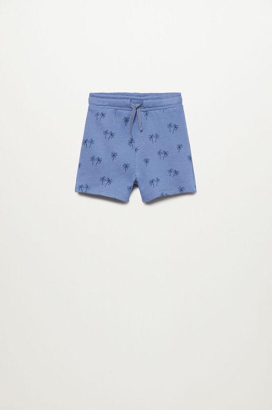 Mango Kids - Szorty dziecięce Mariop-I 80-104 cm (2-pack) niebieski