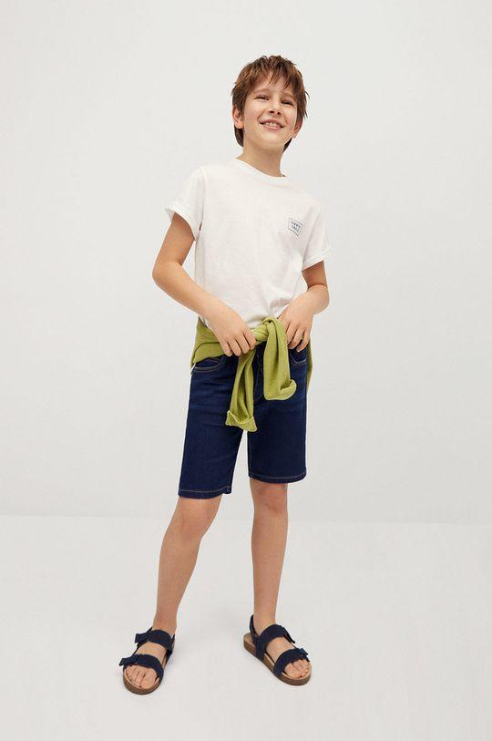 Mango Kids - Szorty dziecięce Comfy 110-164 cm morski