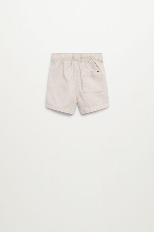 telová Mango Kids - Detské krátke nohavice Calatea 80-104 cm