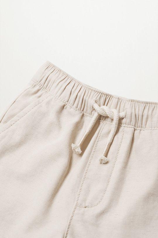 Mango Kids - Detské krátke nohavice Calatea 80-104 cm Chlapčenský