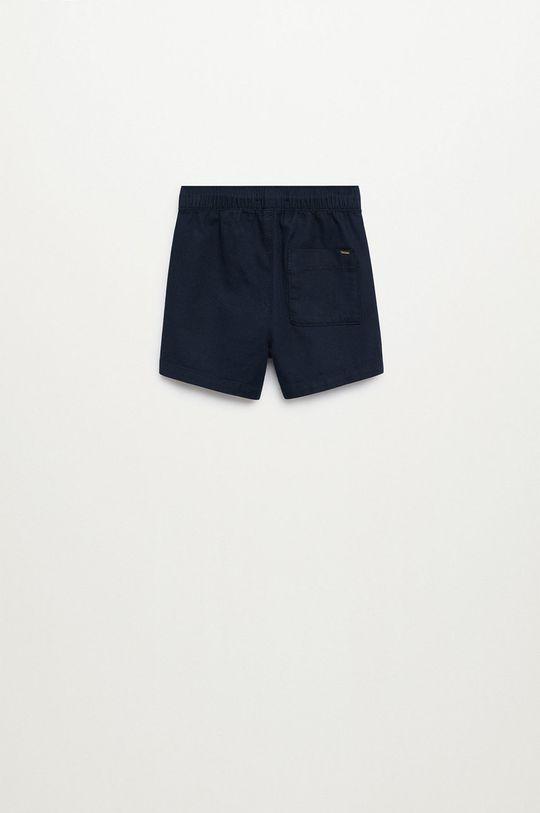 tmavomodrá Mango Kids - Detské krátke nohavice Calatea 80-104 cm