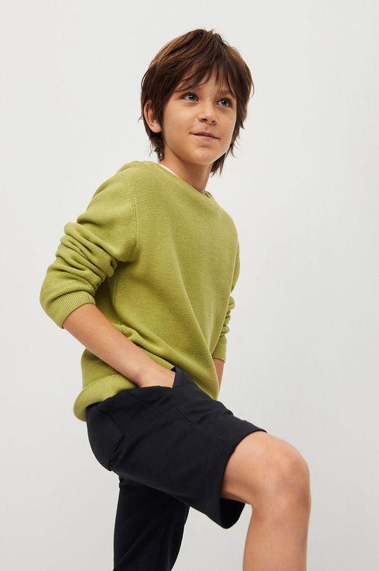 Mango Kids - Szorty dziecięce Mark 110-164 cm 100 % Bawełna