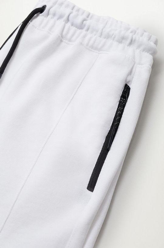Mango Kids - Detské krátke nohavice Evan  100% Bavlna