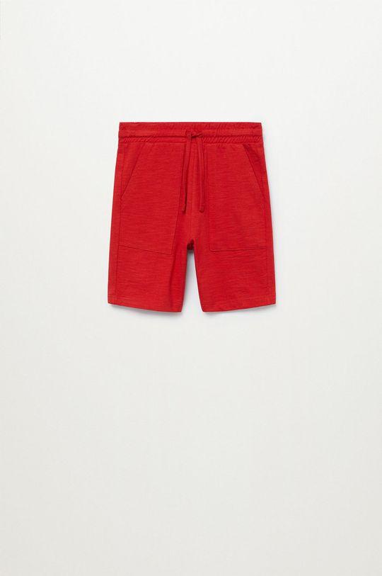 czerwony Mango Kids - Szorty dziecięce Slub8 110-164 cm Chłopięcy