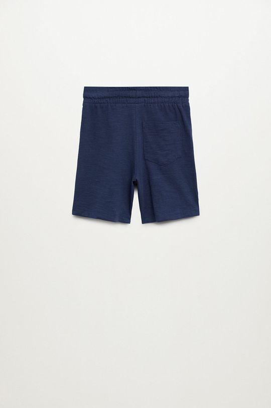 Mango Kids - Detské krátke nohavice Slub8 110-164 cm  100% Bavlna