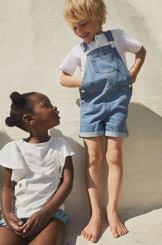 niebieski Mango Kids - Ogrodniczki dziecięce KELLY