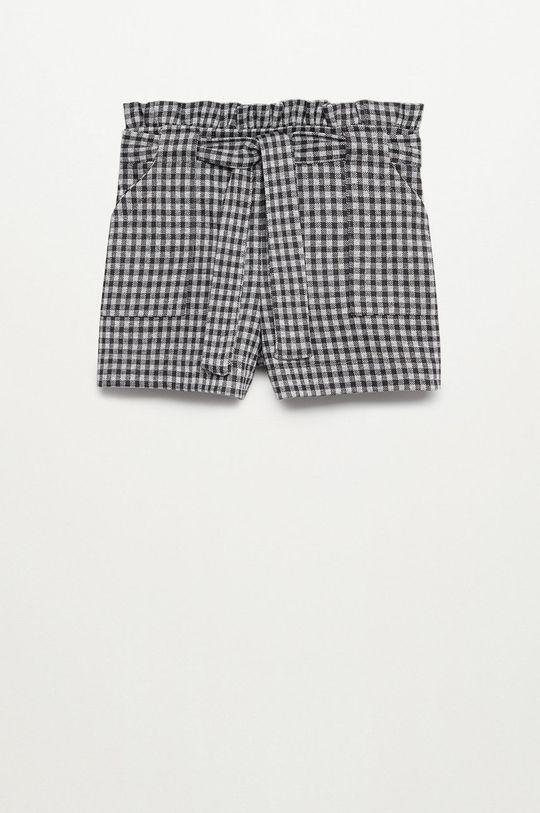 sivá Mango Kids - Detské krátke nohavice MELVICHY Dievčenský