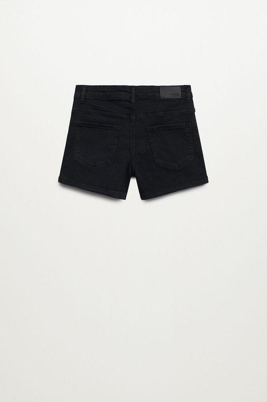 Mango Kids - Szorty jeansowe dziecięce Rose szary