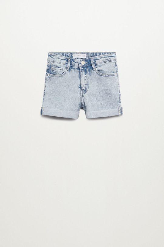fioletowy Mango Kids - Szorty jeansowe Chip 110-164 cm Dziewczęcy