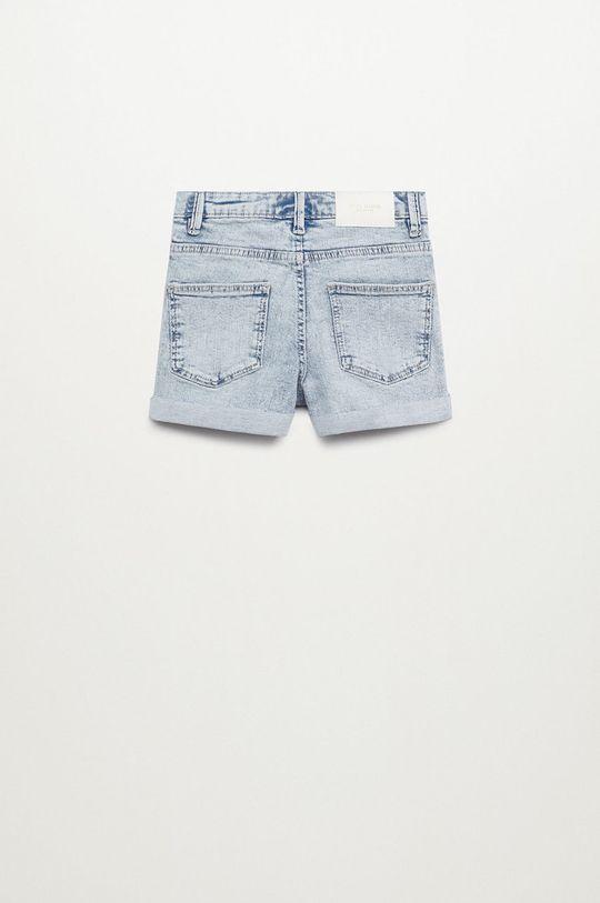 Mango Kids - Szorty jeansowe Chip 110-164 cm fioletowy
