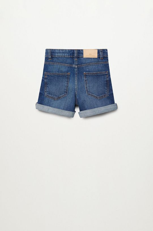 Mango Kids - Szorty jeansowe Chip 110-164 cm morski