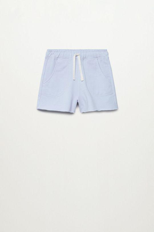 blady niebieski Mango Kids - Szorty dziecięce Lea8 116-164 cm Dziewczęcy