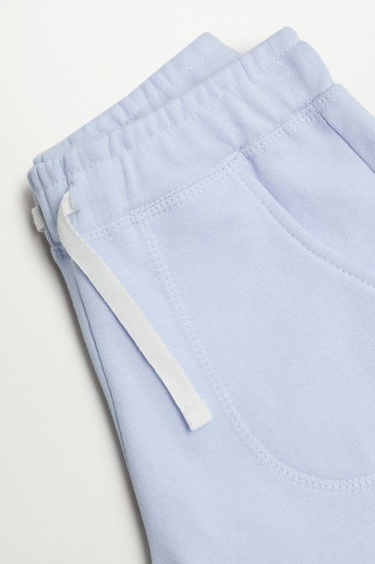Mango Kids - Szorty dziecięce Lea8 116-164 cm blady niebieski