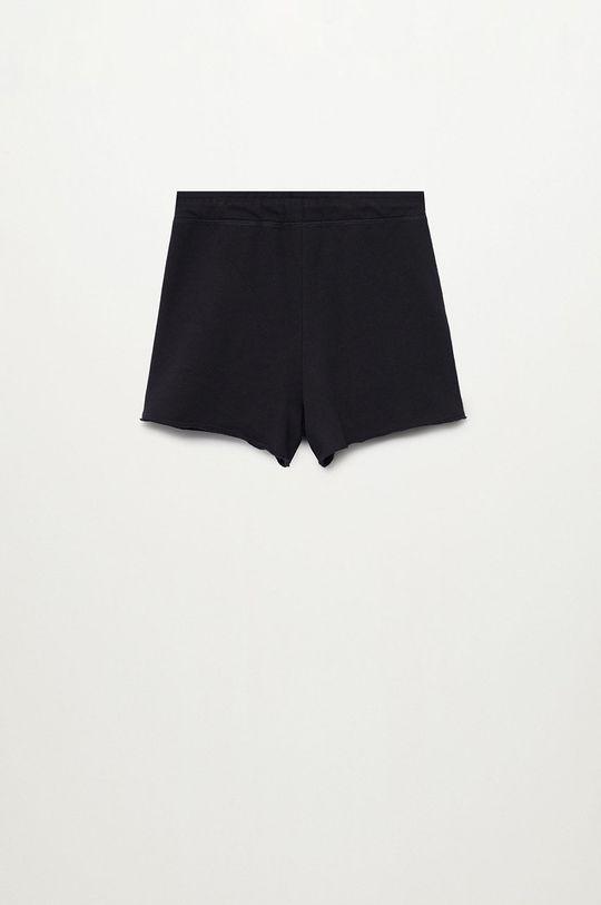 Mango Kids - Detské krátke nohavice Lea8 116-164 cm čierna