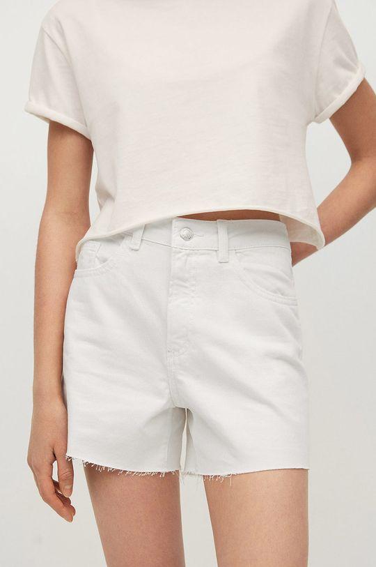 biały Mango Kids - Szorty jeansowe dziecięce Lauren