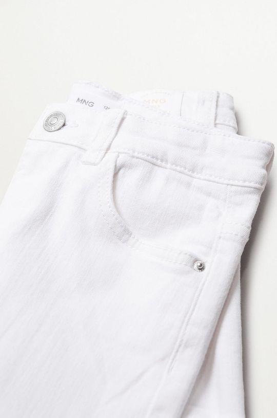 Mango Kids - Szorty jeansowe Patri 110-164 cm 98 % Bawełna, 2 % Elastan
