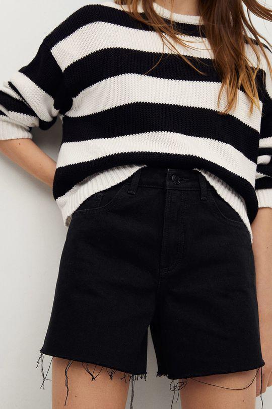 szary Mango Kids - Szorty jeansowe dziecięce Lauren