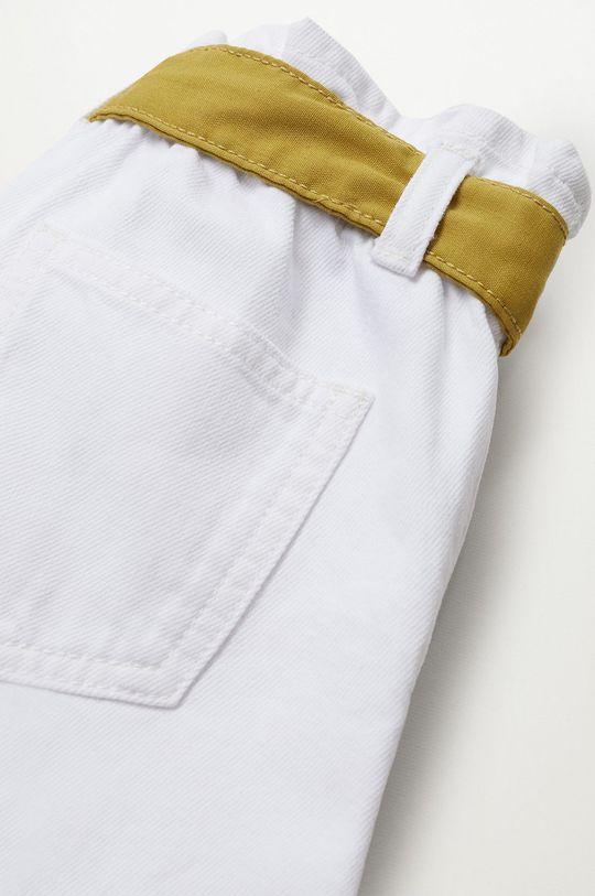 Mango Kids - Szorty jeansowe dziecięce Gala 110-164 cm Dziewczęcy