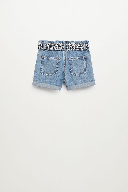 fioletowy Mango Kids - Szorty jeansowe dziecięce Gala 110-164 cm
