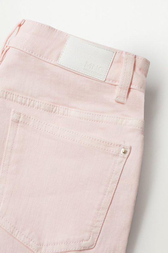 różowy Mango Kids - Szorty jeansowe dziecięce Emma