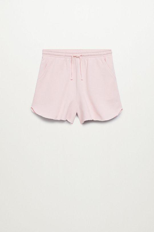 Mango Kids - Detské krátke nohavice PASTEL Dievčenský