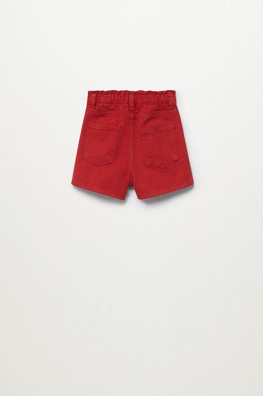 Mango Kids - Szorty jeansowe dziecięce Laura 80-104 cm 100 % Bawełna