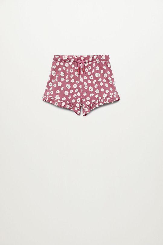 różowy Mango Kids - Szorty dziecięce Matilda 80-104 cm Dziewczęcy