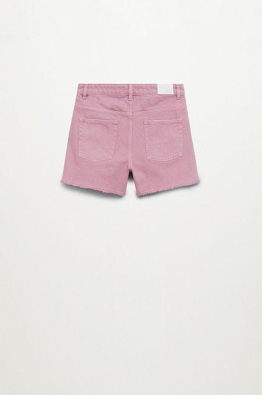 Mango Kids - Szorty jeansowe dziecięce Helenp