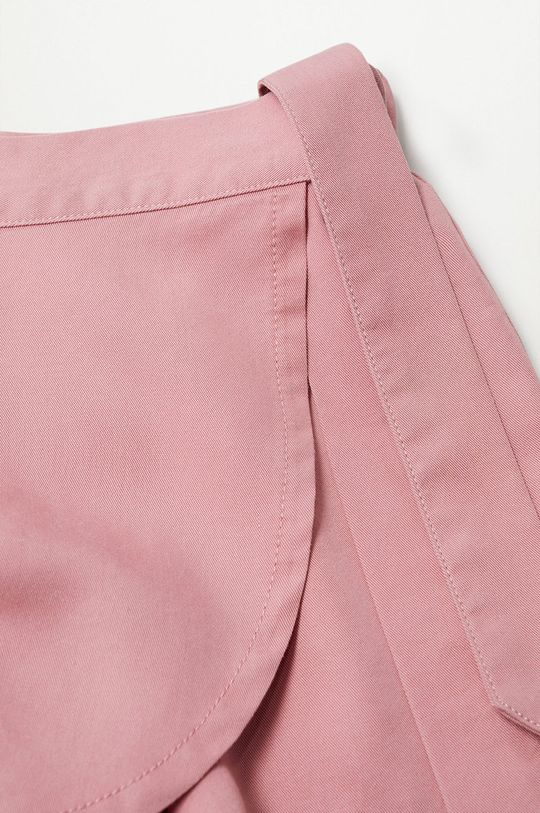 pastelowy różowy Mango Kids - Szorty dziecięce Lines 116-164 cm