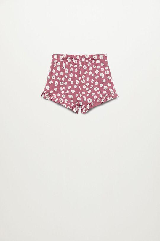 Mango Kids - Szorty dziecięce Matildap-I 80-104 cm (2-pack) Dziewczęcy
