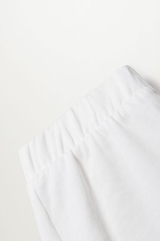 biały Mango Kids - Szorty dziecięce Tenis8 80-104 cm