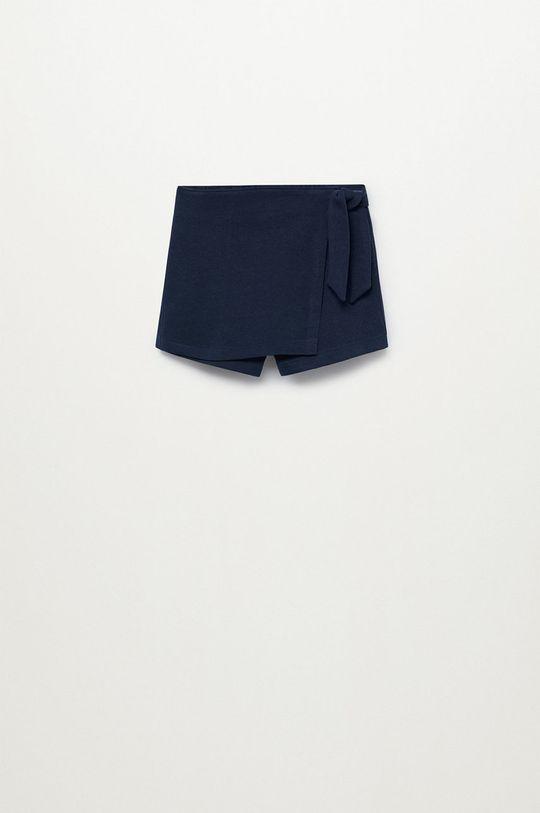 tmavomodrá Mango Kids - Detské krátke nohavice Tenis8 80-104 cm Dievčenský