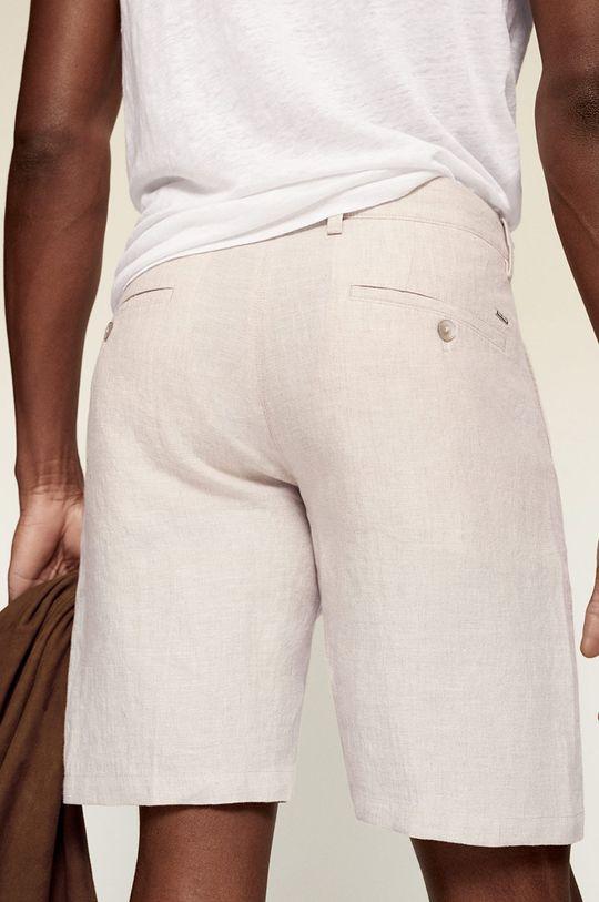 Mango Man - Kraťasy CARP  Hlavní materiál: 100% Len Podšívka kapsy: 100% Bavlna