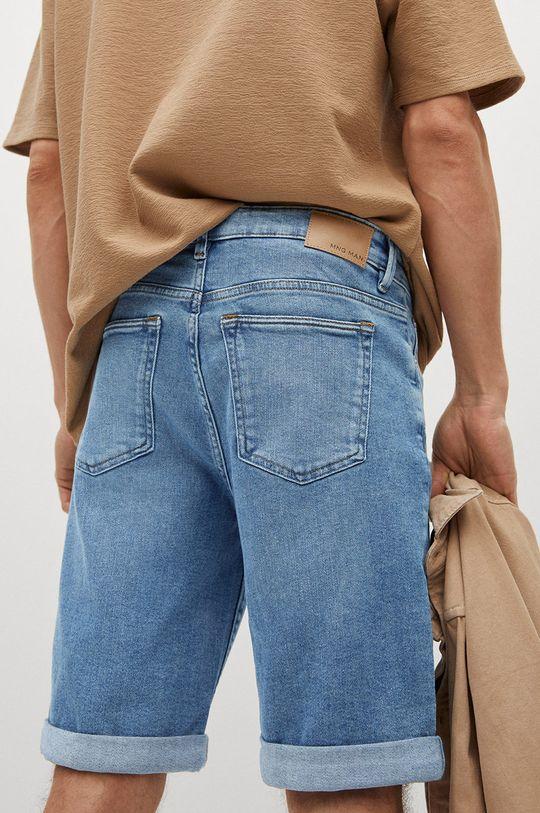 Mango Man - Rifľové krátke nohavice Rock Pánsky