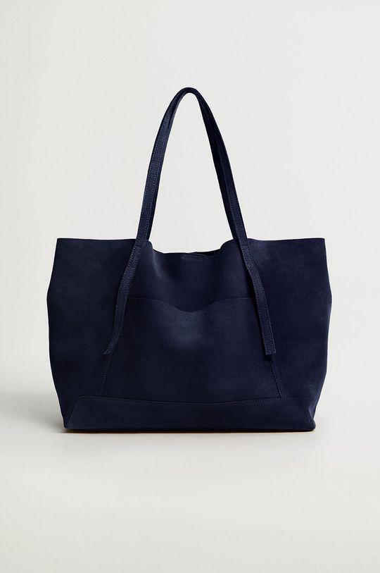 modrá Mango - Semišová kabelka VEGA Dámsky