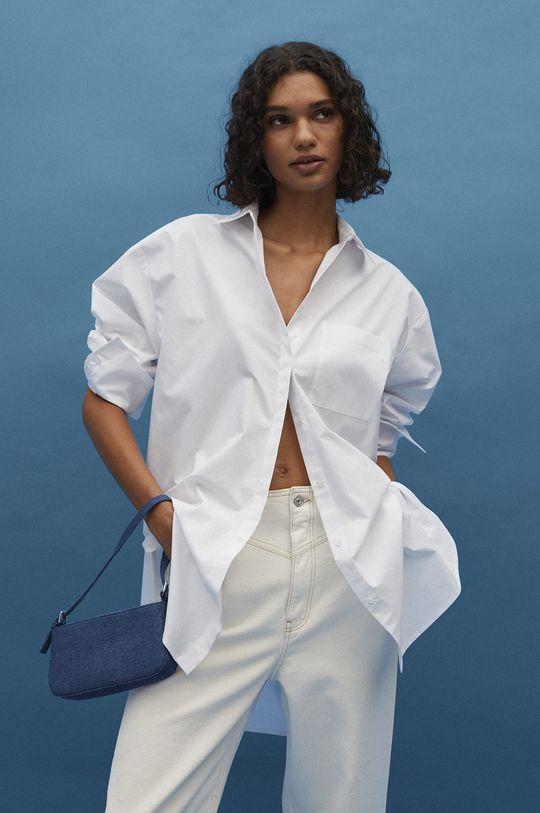Mango - Kabelka VARUN  Podšívka: 100% Polyester Hlavní materiál: 50% Bavlna, 50% Recyklovaná bavlna