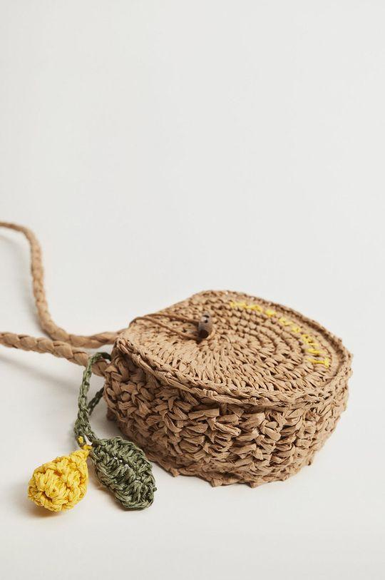 Mango Kids - Dětská kabelka LEMONADE  Podšívka: 100% Polyester Hlavní materiál: Papír, Sláma