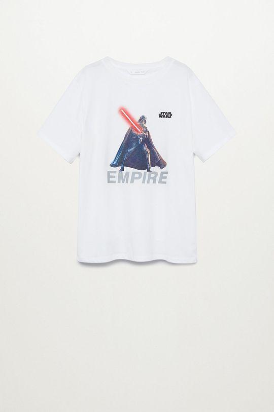 biela Mango Kids - Detské tričko VADER Chlapčenský