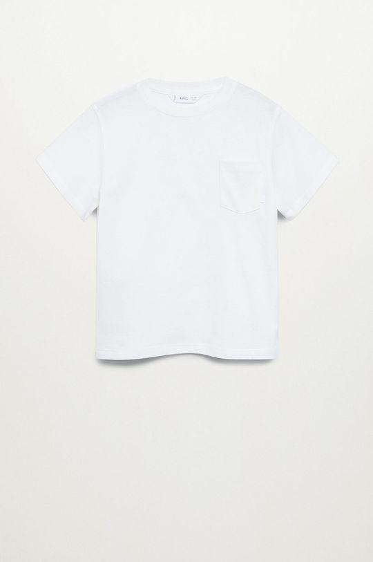 bílá Mango Kids - Dětské tričko BRAD Chlapecký